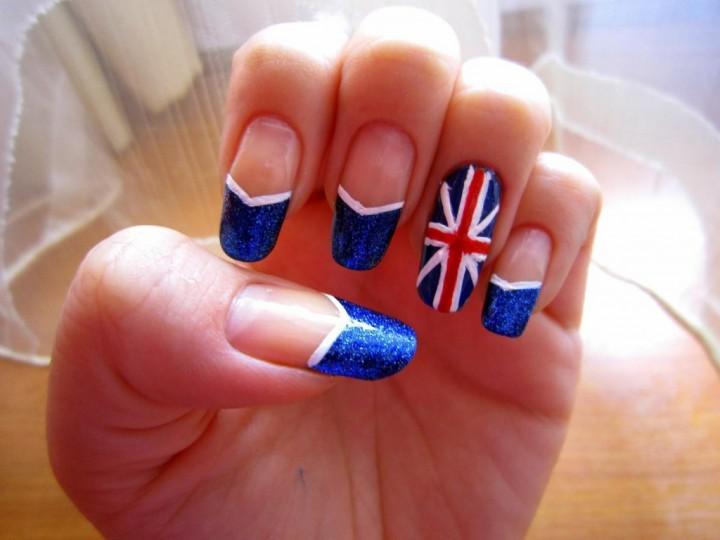 Великобритания на твоих ногтях 4