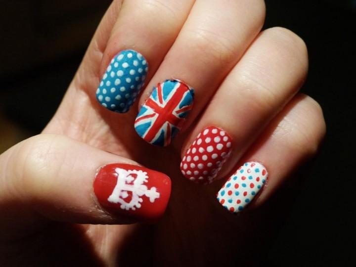 Великобритания на твоих ногтях 5