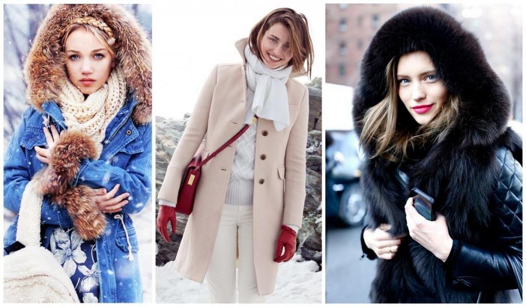 Модная Одежда Зима
